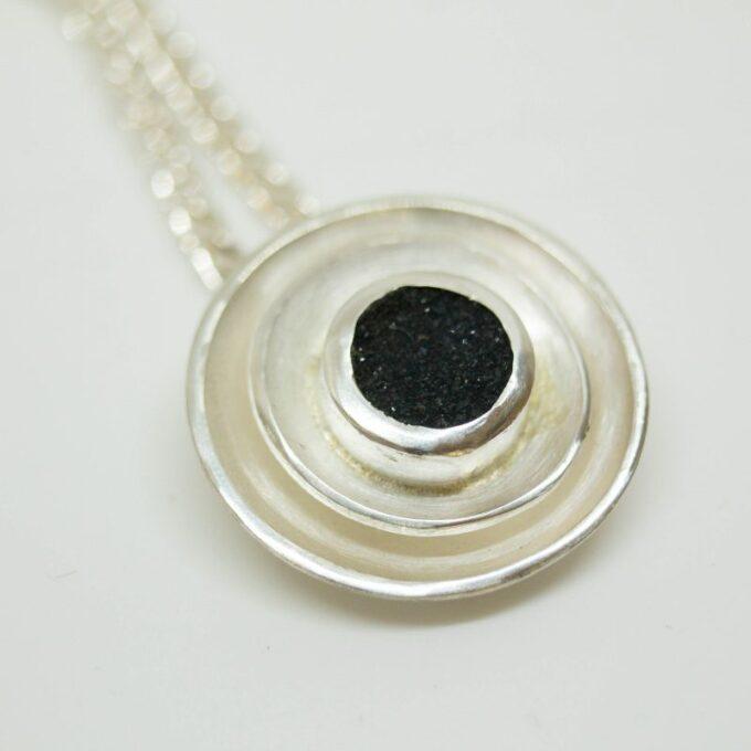 Silberanhänger Onix